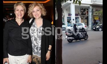 Καίτη Κωνσταντίνου: Η «Σωσώ» από τα «Εγκλήματα» ξέρει κι από βέσπα (exclusive pic)