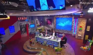 Ράδιο Αρβύλα: Χάθηκε η εικόνα κατά τη διάρκεια της εκπομπής - Η αντίδραση του Κανάκη