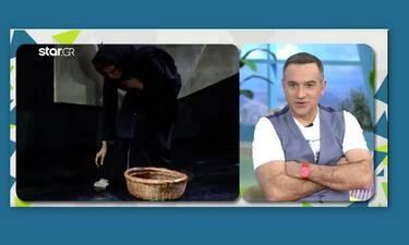 Κρατερός Κατσούλης: Ανακοίνωσε on air τη συμμετοχή του στην ταινία της Μιμής Ντενίση