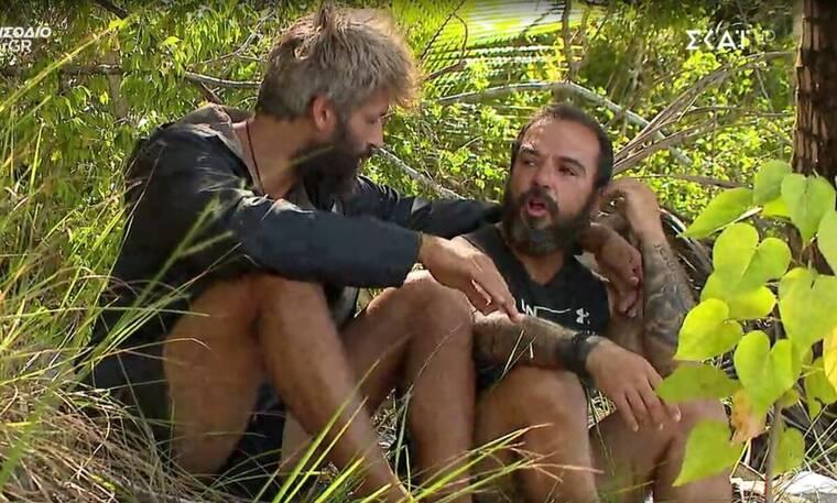 Survivor: «Λύγισε» και ξέσπασε σε κλάματα ο Τριαντάφυλλος: «Είναι όλοι εναντίον μου»