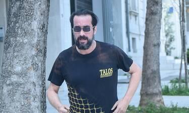 Ο Τάσος Νούσιας όπως δεν τον έχεις ξαναδεί – Για τρέξιμο στο κέντρο της Αθήνας