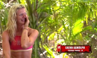 Survivor: Ξέσπασε σε λυγμούς η Ελένη Χαμπέρη  - «Συγγνώμη που κλαίω...»