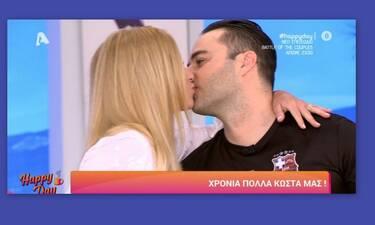 Φραγκολιάς: Η έκπληξη από την αγαπημένη του για τα γενέθλιά του – Η πρόταση γάμου και το μονόπετρο