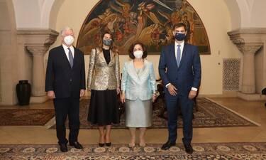 Πριγκίπισσα Αικατερίνη: Υποδέχτηκε τον Έλληνα Υπουργό Τουρισμού στα Ανάκτορα στο Βελιγράδι!