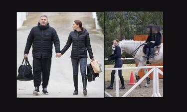 Ρέμος – Μπόσνιακ: Απίθανες φωτογραφίες! Για ιππασία με την κόρη τους, Ελένη