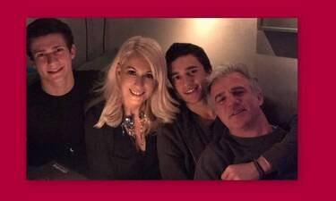 Άρης και Νικήτας Αργυρόπουλος: Θα ξετρελαθείς με τις αδημοσίευτες φώτο με τον πατέρα τους