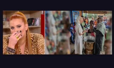 Τα δάκρυα της Χρηστίδου για την Κοντοβά και η αποκάλυψη: «Θα είμαι η νονά της Είντα»