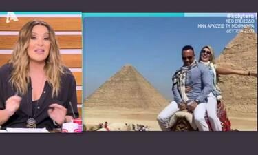 Ναταλία Γερμανού: Έτσι σχολίασε το ταξίδι της Σπυροπούλου: «Εγώ δεν θα ανέβαζα ούτε pixel»