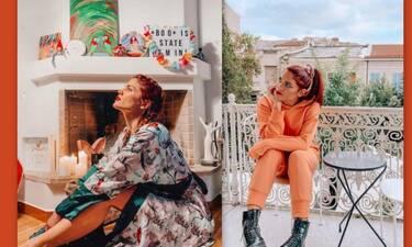Μαίρη Συνατσάκη: Μετακόμισε και το dress room της είναι παράδεισος!
