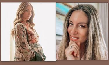 Αθηνά Οικονομάκου: Αποκάλυψε με μια μαγική φωτό το φύλο του μωρού της