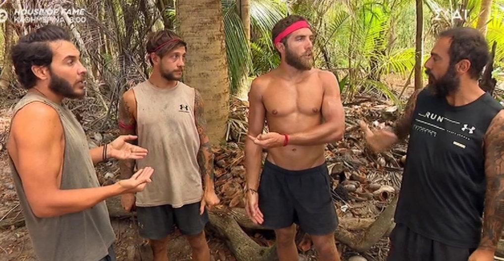 Survivor: Χαμός με τον Κόρομι και τον Τριαντάφυλλο! Ο «μπαγλαμάς» και το «λαϊκό παιδί»