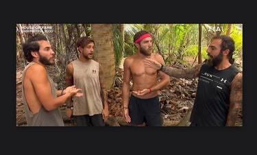 Survivor: Άναψαν τα «αίματα» πάλι με τον Τριαντάφυλλο! Ο «μπαγλαμάς» και το «λαϊκό παιδί»