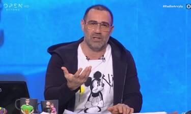 Ράδιο Αρβύλα: Ο κορονοϊός «χτύπησε» ξανά την εκπομπή - «Τα πράγματα είναι πολύ δύσκολα...»