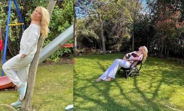 Ελένη Μενεγάκη: Δες 10 φώτο από τον παραμυθένιο της κήπο στα Μελίσσια!