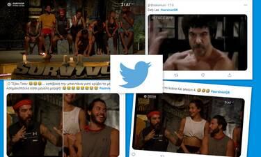Survivor: Ο Τριαντάφυλλος έκανε τον Τζάκι Τσαν και ο Ασημακόπουλος έγινε είδωλο στο twitter