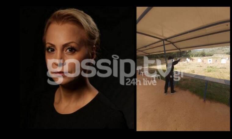 Τέτα Καμπουρέλη: Ξανά στο Σκοπευτήριο μετά τη σύλληψη του συζύγου της - Αποκλειστικές φωτό