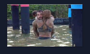 Survivor:  Μαριαλένα – Σάκης: Ξεπλύθηκαν μαζί αγκαλιά, γιατί πίστευαν ότι οι κάμερες δεν καταγράφουν