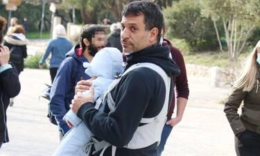 Γιώργος Χρανιώτης: Τρυφερές στιγμές σε βόλτα με τον γιο του!