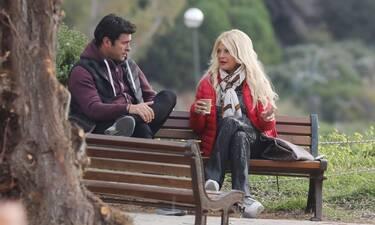 Μαρίνα Πατούλη-Νίκος Παπαδάκης: Βόλτα στο Καβούρι και κουβέντα μεταξύ φίλων