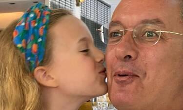 Νίκος Χατζηνικολάου: Η τρυφερή κίνηση της κόρης του, Εύας, που είναι μία κούκλα!