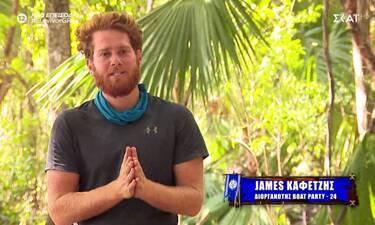 Survivor: Ο James κατάλαβε πολλά για τον Σάκη! «Έχει ένα θέμα με τους τραγουδιστές»