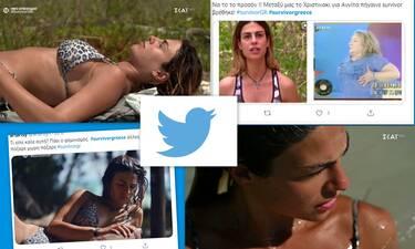 Survivor: H Χριστίνα θεωρεί ότι το μπούστο της είναι το δυνατό της όπλο! «Γλέντια» στο twitter
