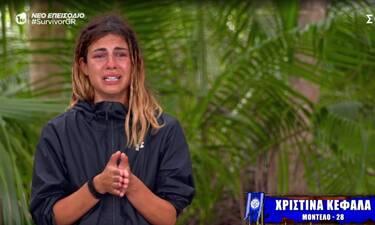 Survivor: Η επίθεση της Ελευθερίου έκανε την Κεφαλά να ξεσπάσει σε κλάματα