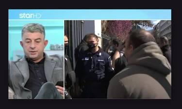 Γιώργος Καραϊβάζ: Αυτό ήταν το ρεπορτάζ που παρουσίασε λίγες ώρες πριν τη δολοφονία του