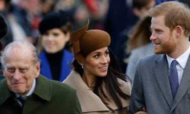 Πρίγκιπας Φίλιππος: To λιτό μήνυμα του πρίγκιπα Χάρι και της Μέγκαν Μαρκλ για το θάνατό του