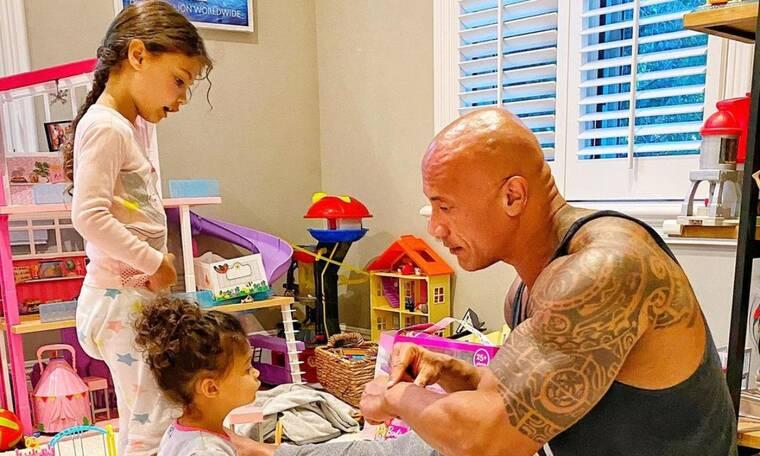 Dwayne Johnson: Δείτε το εντυπωσιακό σπίτι του πιο διάσημου μπαμπά