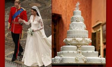 Kate Middleton – Πρίγκιπας William: Το άγνωστο περιστατικό με την γαμήλια τούρτα τους!