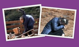 Η Φάρμα: Έπεσε και... τσακίστηκε η Κάτια Δέδε όσο έκοβε ξύλα! Καρέ καρέ το ατύχημα!