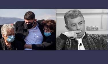 Κηδεία Γιώργου Καραϊβάζ: Ράγισε καρδιές ο επικήδειος λόγος του 20χρονου γιου του