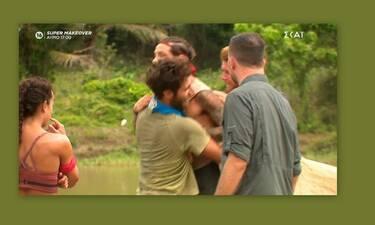 Survivor: Απίστευτο σκηνικό! Αλέξης - Ηλίας: Παραλίγο να πιαστούν στα χέρια – Τους χώρισε ο Λιανός!