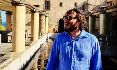 Χαραλαμπόπουλος: Δες την αλλαγή στην εμφάνισή του για τις ανάγκες του νέου του ρόλου