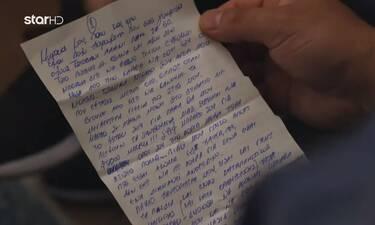 MasterChef 5: Η Μαργαρίτα συγκίνησε τους συμπαίκτες της με το γράμμα που έγραψε