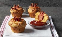 Corn dog muffins από τον Ακη Πετρετζίκη