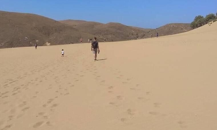 Θα ταξίδευες ποτέ στην έρημο της Ελλάδος;