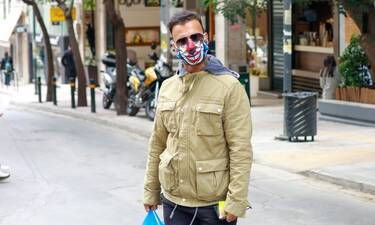 Μπορείτε να μαντέψετε ποιος κρύβεται πίσω από την πιο funky μάσκα που έχουμε δει;