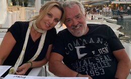 Πέγκυ Ζήνα: Η υπέροχη οικογενειακή φώτο για τα γενέθλια του Γιώργου Λύρα