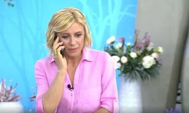 Κατερίνα Καραβάτου: Το ξαφνικό τηλεφώνημα της κόρης της – Ο διάλογος on air!