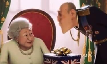 Πρίγκιπας Φίλιππος - Βασίλισσα Ελισάβετ: Το συγκινητικό animation video που έγινε viral!