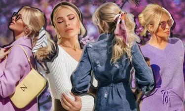 Η Κατερίνα Καινούργιου σου δείχνει 10 τρόπους για να χτενίσεις τα μαλλιά σου αυτή την άνοιξη!