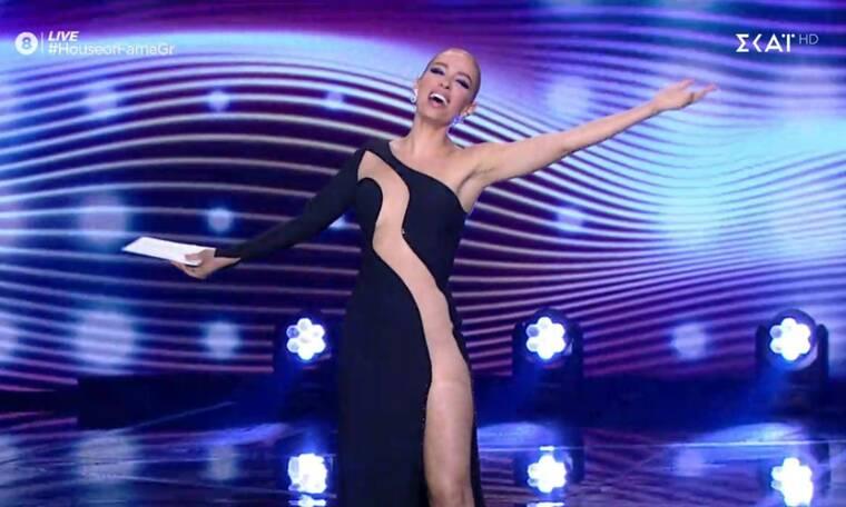 House of Fame: Έλαμψε η Ελένη Φουρέιρα! Tο σχόλιο του Φοίβου για το φόρεμά της