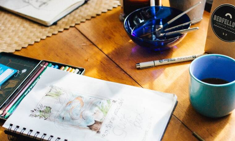7+1 Colouring books για αποφόρτιση από όσα σου σπάνε τα νεύρα