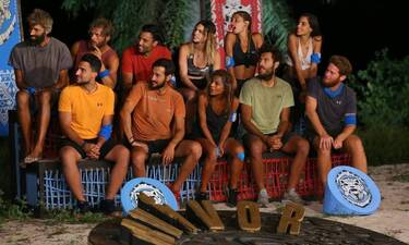 Survivor: Reunion για την Μπλε ομάδα στο σπίτι του Πάνου Καλίδη