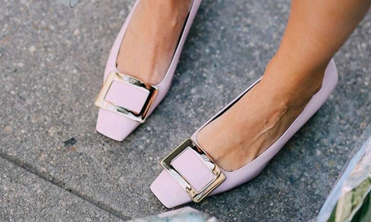 10 ζευγάρια ίσια παπούτσια στα πιο κομψά ανοιξιάτικα χρώματα (photos)