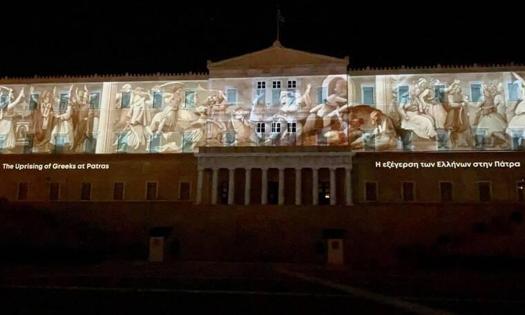 «Ζωντάνεψε» η Ελληνική Επανάσταση στη Βουλή – Εντυπωσιακές εικόνες (pics - vid)