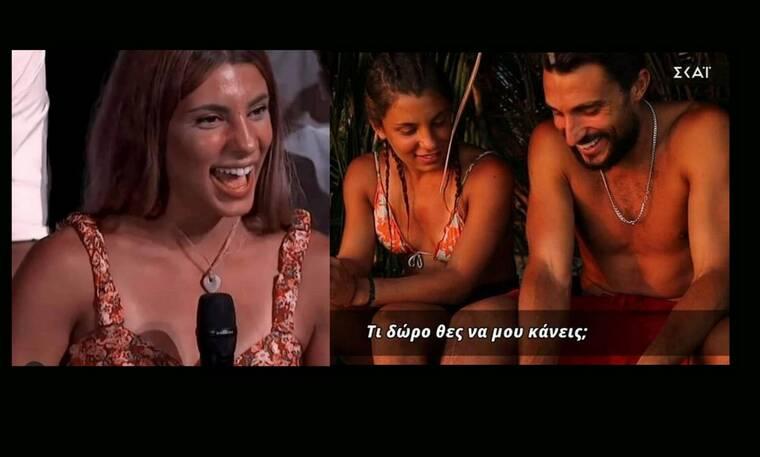 Survivor: Όλη η αλήθεια για τον κολιέ που έκανε δώρο ο Σάκης στη Μαριαλένα