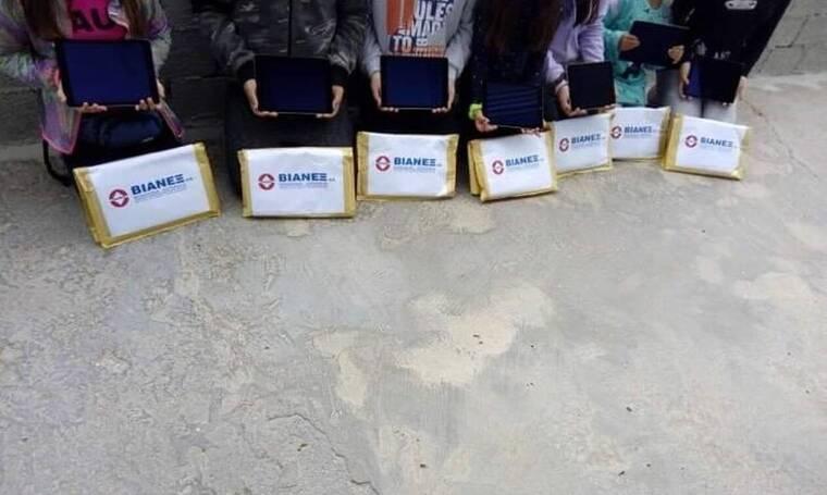 H BIANEΞ στηρίζει τα ακριτικά νησιά σε συνεργασία με την Ομάδα Αιγαίου
